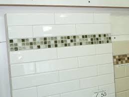 beveled white subway tile backsplash beveled subway tile what are