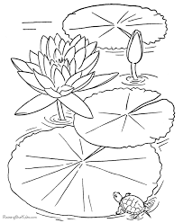 Cool Printable Coloring Pages Of Flowers Best Book Ideas