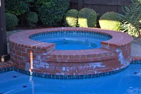 best solution for cleaning calcium buildup on swimming pool spa