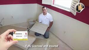 Tile Installer Jobs Tampa Fl by Porcelain Tile Installation Tips And Tricks Ceramic Tile Dade