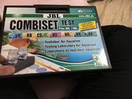 ph aquarium eau douce jbl combiset coffret de tests ph fer kh no2 n03 test et