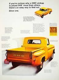 1966 Ad Vintage GMC Pickup Truck Yellow Vehicle GM General Motors ... Amazoncom Gmc Sierra Denali Pickup Truck 124 Friction Series Red 2015 Elevation And Carbon Editions Bring Topflight Leds 2014 Brochure Sales Reference Guide Chevrolet Silverado New 2017 Hd All Terrain X Rocks Heavy Duty Pickup Segment Mcclellan Wheaton Buick In Camrose Ab 1947 1954 Side Windows Australian Body 1984 Pickup Mpc Dester Model Unboxing Build With Bonus 2016 Hidden Next To Models At Local Dealership Trucks This Week Car Buying Big Truck Discounts Kelley Blue Book Pressroom United States Images 1953 Gmc For Sale Classiccars Designs Of 53 Chevy