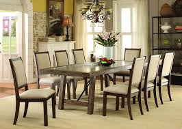 Colette Dining Room Set With Fabric Chairs
