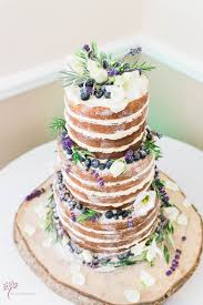 Rustic Lavender Wedding Cake