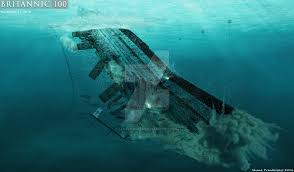 Brittanic Sinking by Death Throes Of The Britannic By Lusitania25 On Deviantart