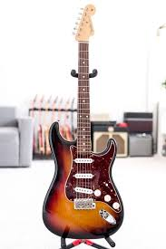 Fender John Mayer Stratocaster In Sunburst