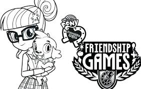 Mlp Eg Coloring Pages My Little Pony Girls Rainbow Dash