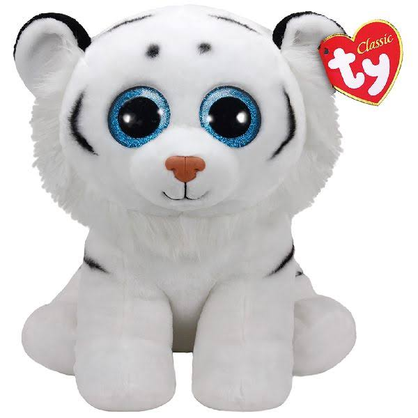 Ty Tundra White Tiger Large
