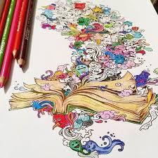 Doodle Invasion Un Nouveau Livre De Coloriage Pour Les Adultes