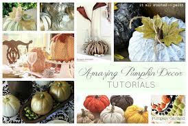Dryer Vent Pumpkins by Nine Amazing Pumpkin Decor Ideas Tauni Co