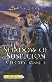 Shadow Of Suspicion Love Inspired Suspense Large Print