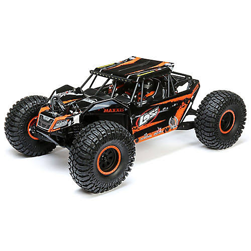 Losi 1/10 Rock Rey 4WD Rock Racer Brushless Bnd LOS03026