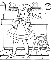 Old Fashioned Coloring Pages