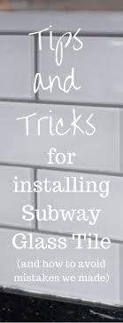 best 25 glass subway tile ideas on glass tile