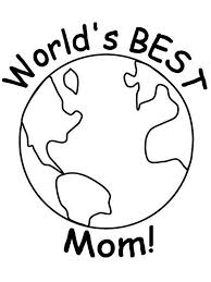 Happy Mothers Day Coloring Pages For Kids 08