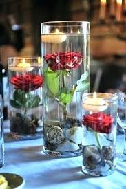Bowl Centerpiece Ideas With Floating Candles Stunning Wedding Candle