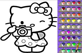Hello Kitty Coloring Book Games