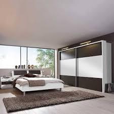 schlafzimmer set rajada in weiß braun 4 teilig