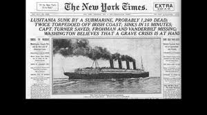 Where In Ireland Did The Lusitania Sink by The Great War Western Front Germans Austria Hungarians Vs French