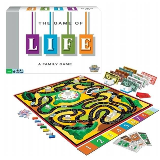 Winning Moves The Game of Life Classic Edition