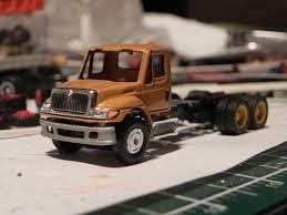 100 Boley Trucks IH 7400 WITH LEACH 2R11 REAR LOAD GARBAGE TRUCK