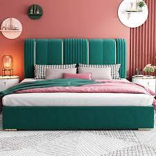 licht luxus bett moderne einfache master schlafzimmer doppel