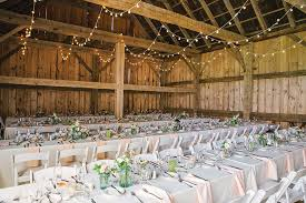 Rustic Chic Wedding Reception In The Scottish Barn Christina Bernales Photography