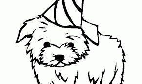 Shocking Ideas Coloring Page Dog Dogs Online Pages 1 Maltese Bone And Cat House Doggy Paw Hot Fire D