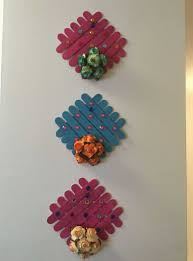 Handicraft Items From Waste Material Lovely Wall Hanging Made By Materials
