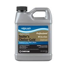 Florida Tile Columbus Ohio Hours by Custom Building Products Aqua Mix Sealer U0027s Choice Gold 24 Oz