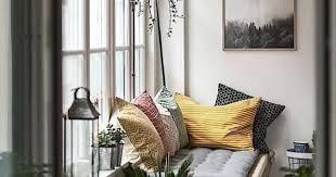 sofa design ideas sitzecke am fenster industrie schick