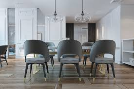 Upholstered Dining Chairs With Nailheads by Furniture Impressive Grey Dining Chairs Pictures Grey Dining