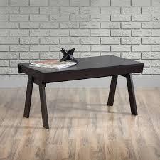 Walmart Sauder Sofa Table by Sauder Square 1 Coffee Table Carbon Ash Finish Walmart Com