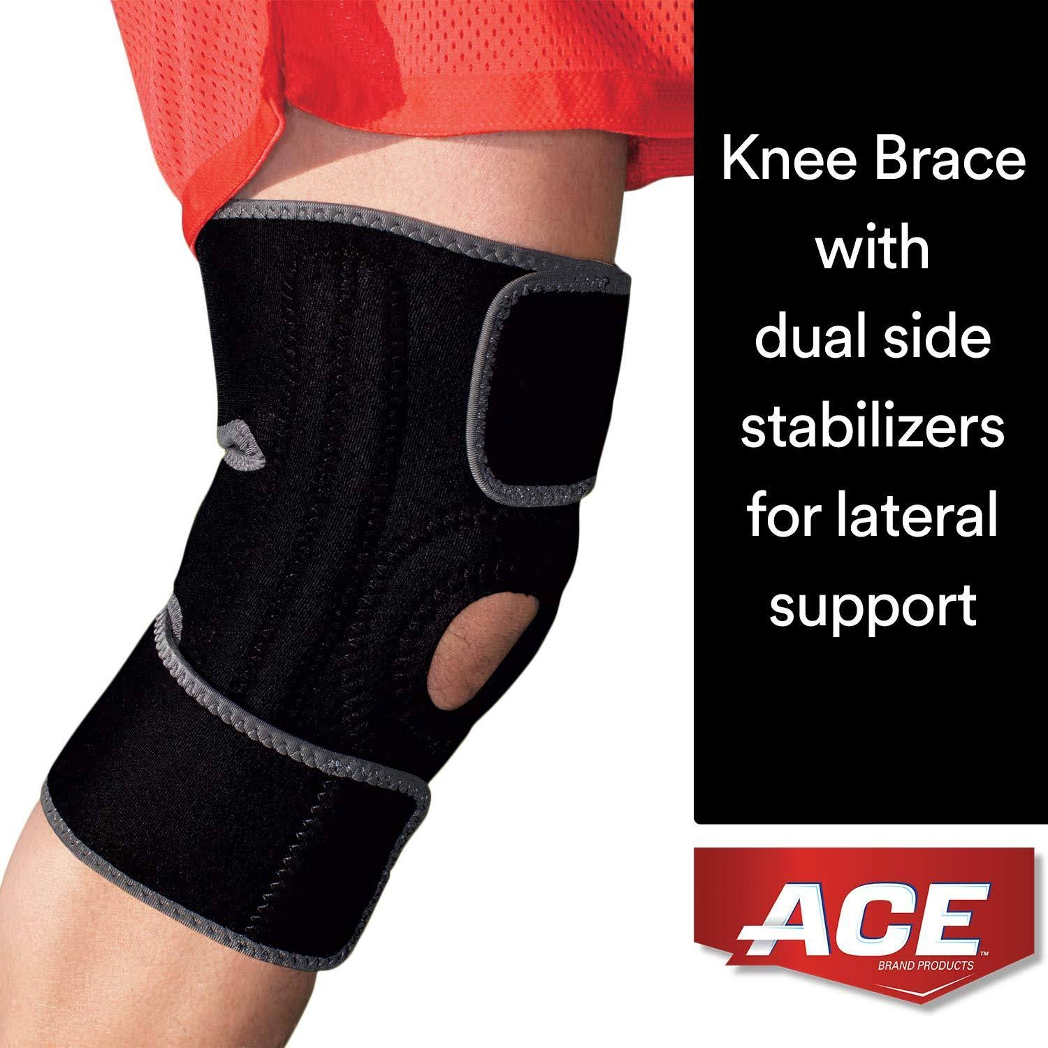 ACE Brand Knee Brace - with Dual Side Stabilizers
