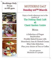 The Potting Shed Bookings by The Potting Shed Cafe Home Facebook