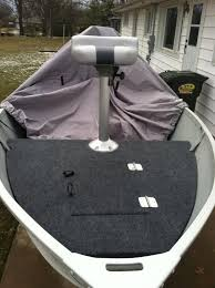 Installing Carpet In A Boat by Installing A Casting Deck On A 14 U0027 Aluminum Boat Ohio Game
