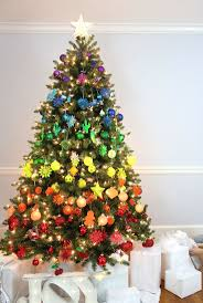 Christmas Tree Names Ideas by Best 25 Colorful Christmas Tree Ideas On Pinterest Christmas