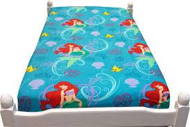 2pc disney little mermaid twin sheet set ariel princess of the