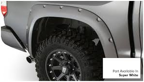Amazon.com: Bushwacker 30918-13 Super White Pocket Style Fender ... Lifted Chevrolet Silverado 1500 Alpine Luxury Edition Rocky Lund Intertional Bushwacker Products F 2014 W Zone 65quot Lift Kits On 20x10 Wheels Putco Stainless Steel Fender Trim 97296 1617 Bushwacker Cost To Install Oem Flares Ford F150 Forum Community Of 62018 Chevy Egr Painted 791574gan 1091907 Flat Style Matte Black Front And Rear Dodge For Trucks Jeeps Suvs Universal Custom Fit Flares Or Mud Flaps
