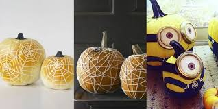 Minion Carved Pumpkins by Of The Best No Carve Pumpkin Ideas For Halloween