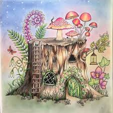 35 Best Coloring Tree Stump Images On Pinterest