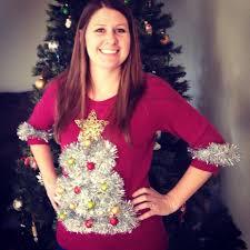 Leg Lamp Christmas Sweater Diy by Christmas Tree Sweater Womens Christmas Lights Decoration