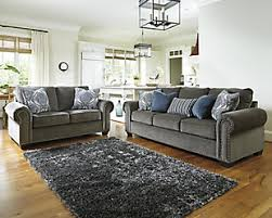 Sofa And Loveseat Sets Ashley Furniture HomeStore Pertaining To Blue Design 2