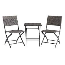 goods for life folding bistro table chairs 3 piece set