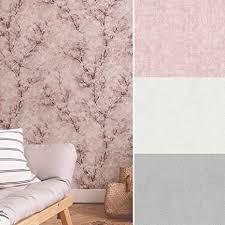 kirschblüten wanddeko blüten tapete wohnzimmer wellness