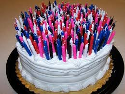 How Many Candles An Adult s Birthday Cake