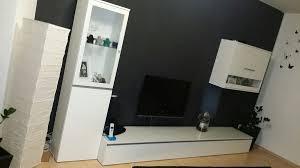 wohnzimmer lowboard vitrine glas tv schrank