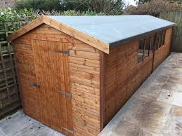 Youtube Shed Plans 12x12 by Garden Sheds Free Fitting And Delivery Easyshed Co Uk