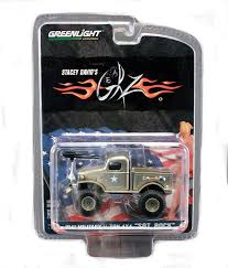 100 Stacey David Trucks Greenlight S SGT Rock 1941 Military Ton 4X4 Truck In 164 Scale