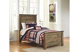 Trinell Twin Panel Bed Brown Large